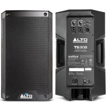 ALTO PROFESSIONAL TS308 4000w Total Peak Power PA Speaker System Pair