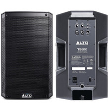 ALTO PROFESSIONAL TS310 4000w Total Peak Power PA Speaker System Pair $10 Instant Coupon Use Promo Code: $10-OFF