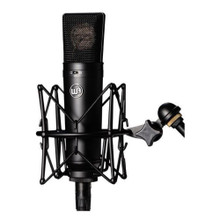 WARM AUDIO WA-87B Large Diaphragm Condenser Black Studio Microphone