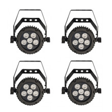 MBT MAGIKPAR 6 (4 PACK) Cool or Warm White LED Fixtures for Uplight or Audience Blinders $20 Instant Coupon use Promo Code: $20-OFF