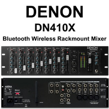 DENON DN-410X 10 Channel Rackmount Bluetooth Audio Mixer $10 Instant Coupon Use Promo Code: $10-OFF
