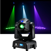 ADJ FOCUS SPOT ONE Intelligent LED Motorized Moving Head Fixture $15 Instant Coupon Use Promo Code: $15-OFF
