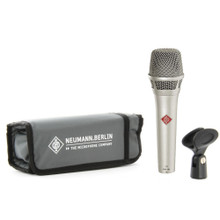 NEUMANN KMS104NI Professional Dual Purpose Live & Studio Vocal Mic in Nickel Finish