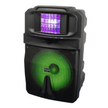 VOCOPRO THUNDER 1500 Rechargeable Battery Powered Lighted Speaker with LED Derby $5 Instant Coupon use Promo Code: $5-OFF