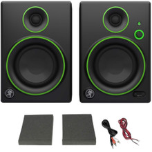 "MACKIE CR4BT Bluetooth 4"" Active Home Studio Monitor Pair $5 Instant Coupon Use Promo Code: $5-OFF"