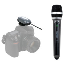 VOCOPRO COMMANDER-FILM-HANDHELD Digital Wireless Handheld Mic and Receiver $5 Instant Coupon Use Promo Code: $5-OFF