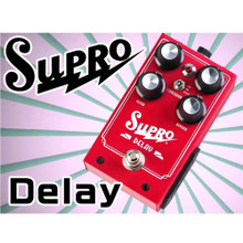 SUPRO DELAY Analog Guitar Pedal $5 Instant Coupon use Promo Code: $5-OFF