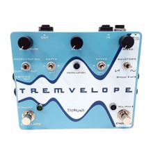 PIGTRONIX TREMVELOPE Opitical Tremolo / Envelope Guitar Pedal $5 Instant Coupon use Promo Code: $5-OFF