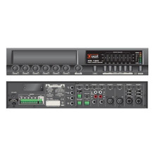 QUEST COMMERCIAL PR-240 6 Channel Rackmount Powered Audio Mixer $25 Instant Coupon Use Promo Code: $25-OFF