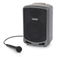 SAMSON EXPEDITION EXPRESS Compact 20 Hour Rechargeable Bluetooth Wired Mic PA System $5 Instant Coupon Use Promo Code: $5-OFF