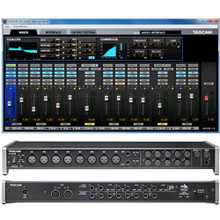 TASCAM US-16X08 Rackmount Digital Interface with Control Panel Software