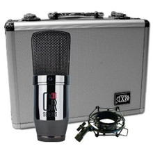 MXL CR30 Black Chrome Large Diaphragm Condenser Microphone $5 Instant Coupon Use Promo Code: $5-OFF