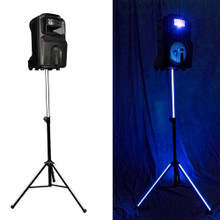 VOCOPRO SOUNDGLOW-1200 Rechargeable Battery Powered Lighted LED Derby Speaker & Stand $5 Instant Coupon use Promo Code: $5-OFF