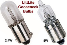 LITTLITE Gooseneck LO or HI Intensity Replacement Bulbs