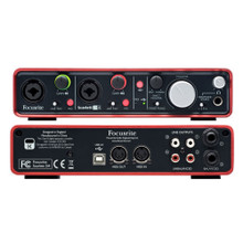 FOCUSRITE SCARLETT 2i4 (2nd Gen) 2x4 USB Audio Interface with PC or Mac Software