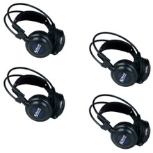 VOCOPRO SILENTSYMPHONY-HP 4-Pack Wireless Audio Listening Headphone Expansion System