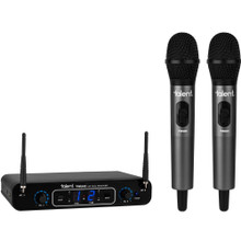 TALENT TWUH2 Dual Handheld Wireless Microphones and Dual Receiver System $10 Instant Coupon use Promo Code: $10-OFF