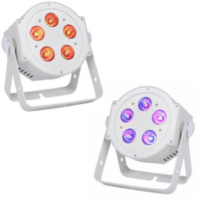 AMERICAN DJ 5P HEX PEARL Wash / UpLight LED White Par Pack $10 Instant Coupon use Promo Code: $10-OFF