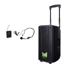 dB TECHNOLOGIES B-HYPE M BT Portable Battery Powered Wireless Headset Mic PA Speaker System