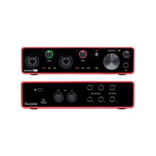 FOCUSRITE SCARLETT 4i4 (3rd Gen) Recording Studio USB Interface with Software