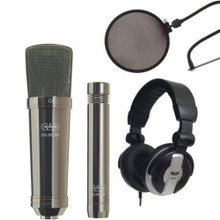 CAD GXL2200BPSP Black Pearl Large Diaphragm Studio Mic Pack $5 Instant Coupon use Promo Code: $5-OFF