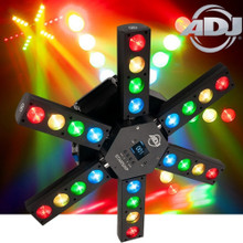 ADJ STARSHIP 24x15W LED RGBA LED Moving Light Centerpiece FX Fixture $20 Instant Coupon use Promo Code: $20-OFF