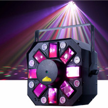 AMERICAN DJ STINGER II 3 in 1 Moonflower / Laser / Strobe FX Fixture $5 Instant Coupon use Promo Code: $5-OFF