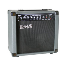 RMS RMSG20R Compact 20-Watt Electric Guitar Practice Reverb Amplifier with Clean or Overdrive Channel