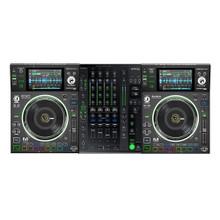 DENON SC5000M BUNDLE Pair and X1800 Professional Digital Mixer $100 Instant Coupon Use Promo Code: $100-OFF