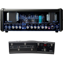 HUGHES & KETTNER GRANDMEISTER DELUXE 40 4-Channel 40W Tube Guitar Head Amp with MIDI Pedal $100 Instant Coupon Use Promo Code: $100-OFF