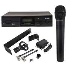 AUDIO TECHNICA ATW-2120BI 2000 Series Wireless Rackmount Handheld System $5 Instant Coupon Use Promo Code: $5-OFF