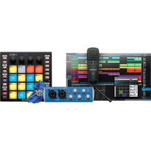 PRESONUS ATOM PRODUCER LAB Complete All-In-One Music Production Pack with Interface, Mic, Cables & StudioOne Artist Software $5 Instant Coupon use Promo Code: $5-OFF