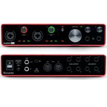 FOCUSRITE SCARLETT 8i6 (3rd Gen) Recording Studio USB Interface with Software