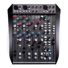 SOLID STATE LOGIC SIX 12 Channel Pro Studio, Post-Production, Live Stage and Podcasting Compact Audio Mixer
