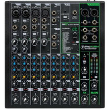 MACKIE ProFX10v3 Compact 10-Channel USB FX Recording Audio Mixer