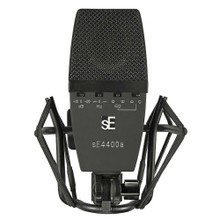 SE ELECTRONICS 4400A Vintage Reissue Studio Mic with 4 Polar Settings, Shockmount and Case