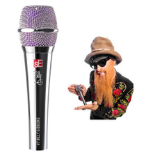 SE ELECTRONICS V7-BFG Professional Live Performance Signature Vocal Mic with Clip, Pouch and More