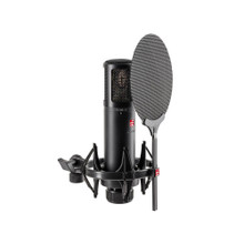 SE ELECTRONICS SE2300 Classic Multi-Pattern Condenser Studio Mic with Shockmount and Pop Filter