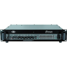 AMPEG SVT-3 PRO 450w Rackmount Bass Amplifier with Tubes, EQ & Frequency Midrange Control