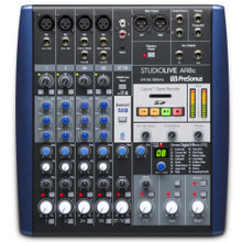 PRESONUS STUDIOLIVE AR8C Portable Audio Interface & SD Recording Mixer with Software $10 Instant Coupon use Promo Code: $10-OFF