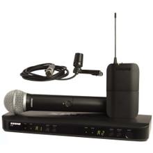 SHURE BLX1288/CVL-J10 Dual Wireless Handheld & Lavalier Mic System