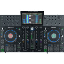 """DENON PRIME 4 All in One Standalone DJ System with 10"""" HD Multi-Touch Display"""