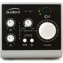 AUDIENT iD4 2-In / 2-Out Desktop Audio Interface