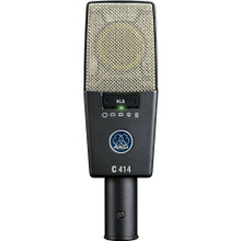 AKG C414-XLS Large Diaphragm Studio Mic with Pop Filter, Shockmount and Case