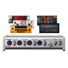 TASCAM SERIES 208i USB / Dual Optical / MIDI 20x8 Digital Audio Interface with Built-in FX and Software