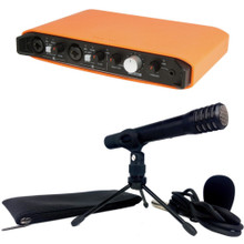 TASCAM iXR TRACKPACK Complete USB/MIDI Recording Audio Interface Package for iOS / MAC / PC with Software