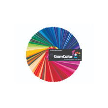 GAMCOLOR SWATCHBOOK 100's of Deep Dyed Polyester Color Filter Samples