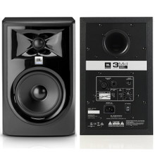 "JBL 306P MKII 6.5"" Bi-Amped 224w Total Active Nearfield Studio Reference Monitors"