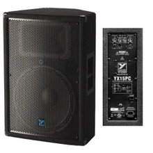 Yorkville YX15P Compact Active PA Speaker System Pair