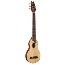 WASHBURN ROVERRO10SK Full Scale Solid Spruce/MahoganyTravel Guitar & Gigbag